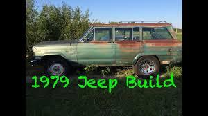 1969 jeep wagoneer barn find 1979 jeep wagoneer youtube