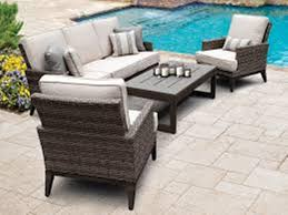 unique wooden deep seating outdoor furniture all home decorations