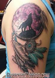 20 dreamcatcher tattoos and designs