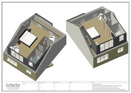 Loft Conversion Floor Plans Design Drawings And Visualisation