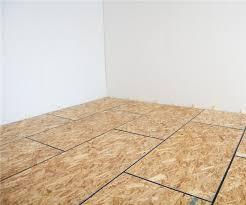 Basement Floor Insulation How To Diy Finish Your Basement Floor Insulated Subfloor