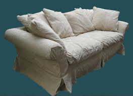 shabby chic sofa covers with white color ideas home interior