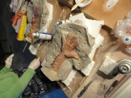 how to mold a fiberglass part page 1 of 1 how to make a fiberglass mold also clay walls and a