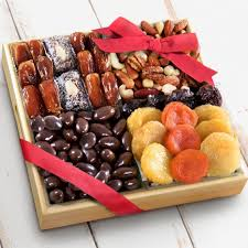 Fruit And Nut Gift Baskets Santa Cruz Dried Fruits With Savory And Chocolate Nuts Crate