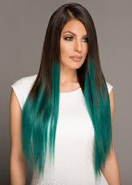 teal hair extensions hair kouture by bellami remy human hair clip in