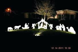 lighted outdoor nativity yard nativity outdoor nativity lighted outdoor lighted