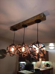 Diy Hanging Light Fixtures How To Make Great Diy Light Fixtures By Repurposing Items