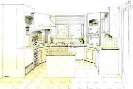 dessiner en perspective une cuisine dessiner en perspective une cuisine perspective cuisine comment