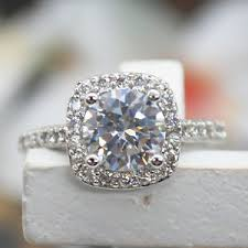 5 carat engagement ring 1 5 carat ct vvs1 diamond engagement ring cut halo white