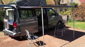 Vw T5 Awnings Vw T5 California Awning Table And Chairs Youtube