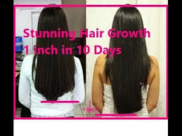 1 inch of hair hair growth challenge 1 inch in 10 days natural home