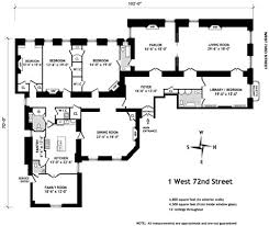 New Floor Plan Floor Plan For An Apartment In The Dakota Apartment Building