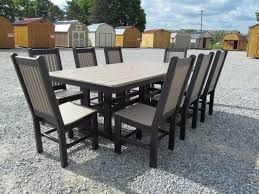 Tall Outdoor Chairs Lancaster Poly Patios Home