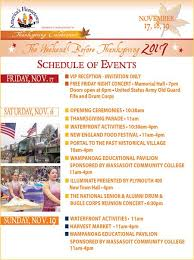 america s hometown thanksgiving celebration 2017 in plymouth ma