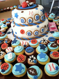 baby shower sports theme 6 baby boy shower sports theme cupcakes photo sports themed baby