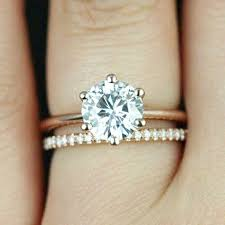 wedding band play choose tiny diamonds to play up your bigger one engagement ring