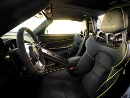 porsche 918 interior car collectors buying selling hypercars business insider
