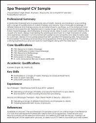 Respiratory Therapist Resume Samples Therapist Resume Samples Cbshow Co