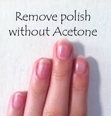 d i y how to remove nail polish without acetone youtube