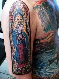 stained glass tattoo designs pictures to pin on pinterest tattooskid