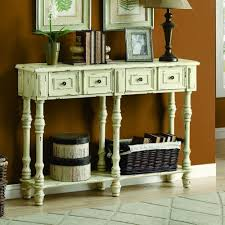 48 inch console table monarch veneer traditional console table 48 inch antique white