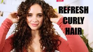 how to refresh curly hair using devacurl ft dana gagliotti