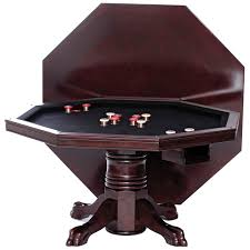 level best 54 in 3 in 1 game table set with 4 rocker swivel