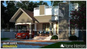 Kerala Home Design 900 Sq Feet Square Feet Single Floor Contemporary Home Design