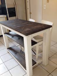 2 half shelves end grain kitchen island butcher block top with 2 half shelves end grain kitchen island butcher block top with seating for 2 3 or 4 rustic wood farmhouse style kitchen table