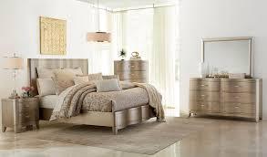 Klaussner Bedroom Furniture Klaussner Serenade 4 Panel Bedroom Set In Shimmering