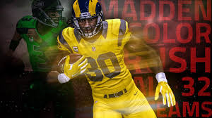 Best Colors 2017 All 32 Teams Color Rush Uniform Showcase Madden 17 Youtube