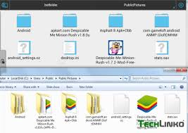 software to run apk files on pc how to store bluestacks obb data sdcard shared folder location in