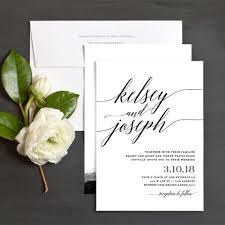 Wedding Invitations Ottawa Lovely Minimalist Invitations For A Modern Wedding Weddingbells