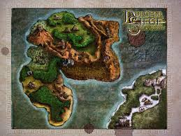 dungeon siege map a map of the lands from dungeon siege legends of aranna an