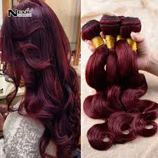 ali express hair weave best aliexpress hair 99j burgundy brazilian virgin hair body wave