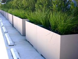 Concrete Planters Concrete Planters Crafthubs Plus Outdoor Inspirations Savwi Com