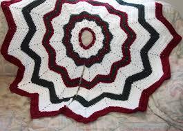 Moose Christmas Tree Skirt Crochet Christmas Tree Skirt Pattern Free Christmas Lights