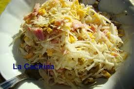 cuisiner du chou blanc recette de salade de chou blanc aux olives et jambon la recette