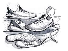 image gallery shoe sketches