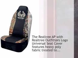 Realtree Bench Seat Covers Realtree Ap With Realtree Outfitters Logo Universal Seat Cover