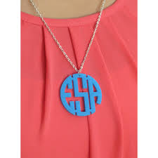 Circle Monogram Necklace Index Of Wp Content Uploads 2013 04