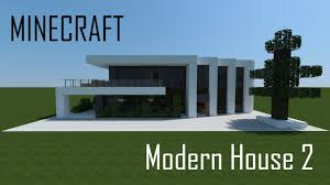 Modern Houses Minecraft Minecraft Modern House 2 Full Interior Download Youtube