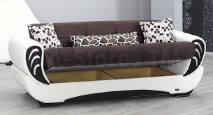 sale 1398 00 san francisco 2 pc two toned brown and white sofa
