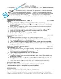 Resume Sample Visual Merchandiser by Merchandiser Sales Resume