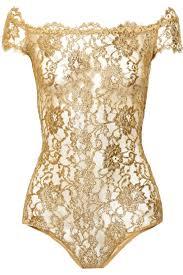 i d sarrieri rhapsody metallic lace bodysuit lingerie closet