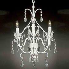 Plug In Crystal Chandelier White Wrought Iron Crystal Chandelier Lighting Country French Swag