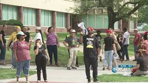prot e bureau 1 arrested others cited in topeka protest against poverty ksnw