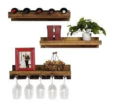wine rack reclaimed wood wall mounted wine rack solid wood wall