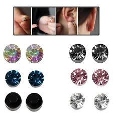 magnetic earrings magnetic magnet earrings stud boys girl clip on earrings non