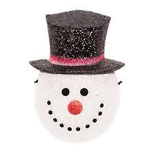 amazon com snowman holiday christmas porch light covers set of 2